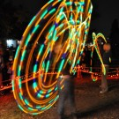Gillian Tunney - LED Hoop and Marc Wardak - LED Poi