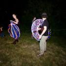 Tim Bardo and Gillian Tunney : LED Hoop