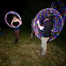 Tim Bardo and Gillian Tunney - LED Hoops