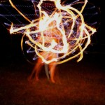 Gillian Tunney - Fire and LED Hoop