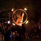 Gillian Tunney - Fire Hoop