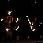 Asha Ashwell and Shoola Fire Hoop. Photo by Christina Cooke ( https://www.facebook.com/ChristinaCooke.Photos )