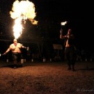 Fire Breathing : Arlowe Price, Rayne Holt. photo by Christina Cooke ( https://www.facebook.com/ChristinaCooke.Photos )